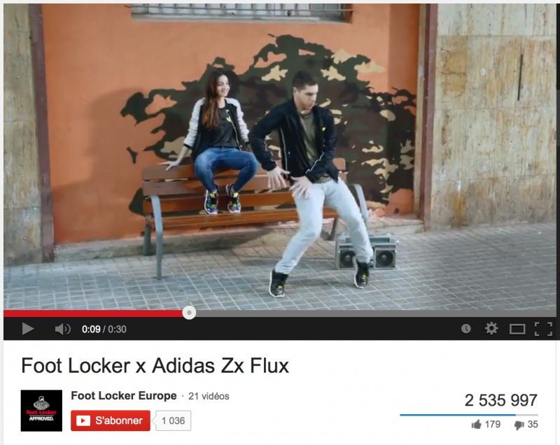 Sophie Gateau . Director . Foot Locker X Adidas video goes viral!